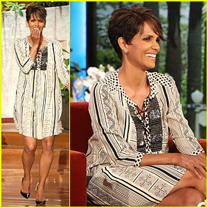 Halle Berry Talks Different Sucking Styles Between Boy & Girl on 'Ellen' - Watch Now!