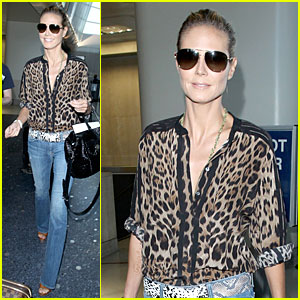 Heidi Klum Shows Her Animal Instincts Before 'America's Got Talent' Premiere!
