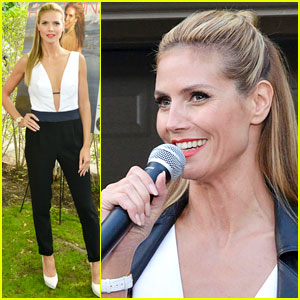 Heidi Klum Reveals How She Spends Her Days Off!