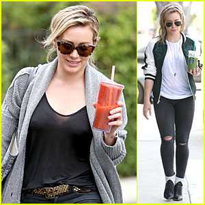 Hilary Duff Becomes Surgeon After Son Luca Gets a Bead Stuck Up His Nose!