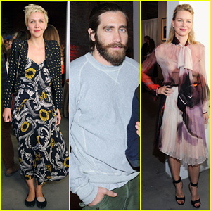 Jake Gyllenhaal Attends First Annual Village Fete Fundraiser with Sister Maggie & Naomi Watts!