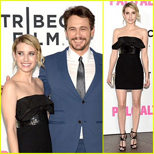 James Franco & Emma Roberts Look Very Proud at 'Palo Alto' Premiere!