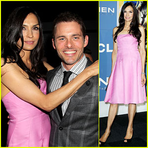 Cyclops & Jean Grey Reunite! James Marsden & Famke Janssen Attend 'X-Men' Premiere!