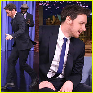 James McAvoy is So Focused on Air Double Dutch on 'Tonight Show'!