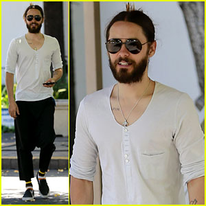 Jared Leto Can Make Drop Crotch Pants the New Trend