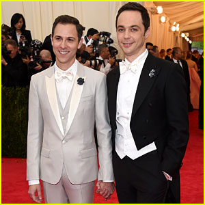 Jim Parsons Amp Todd Spiewak First Couple Appearance Jim