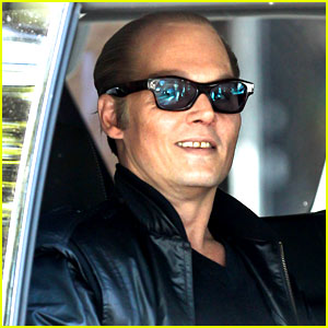 Johnny Depp Looks Like Jack Nicholson in His Movie Makeup!