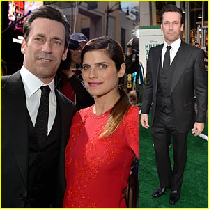 Jon Hamm & Lake Bell Have a 'Million Dollar Arm' at Hollywood Premiere!