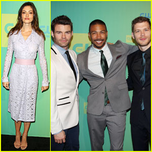 Joseph Morgan & Phoebe Tonkin Get 'Original' at CW Upfronts!