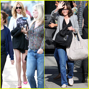Julia Roberts & Sally Field Reunite to Play 'Celebrity Curse Off' on 'Jimmy Kimmel' (Video)