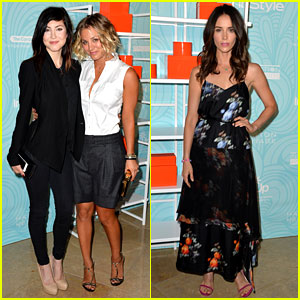 Kaley Cuoco & Abigail Spencer Support the Step Up Awards