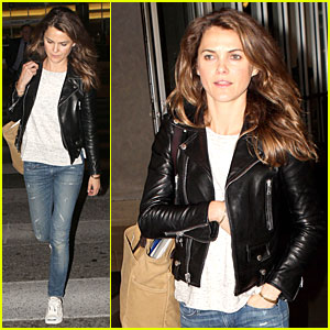 Keri Russell Wants to Spend Time with Kids & Not Work This Summer!