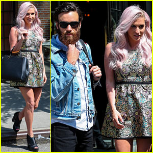Kesha & New Boyfriend Brad Ashenfelter Continue Their NYC Getaway