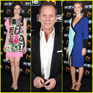 Kiefer Sutherland Hits London for '24: Live Another Day' Premiere!