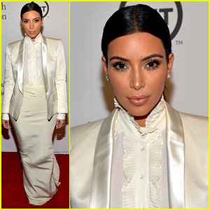 Kim Kardashian Glams Up After Wedding Rant & Racism Blog