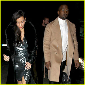 Kim Kardashian Wears Flashy Dress for Honeymoon Date Night!