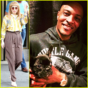 Lady Gaga's Dog Asia Takes a Selfie with Rapper T.I.