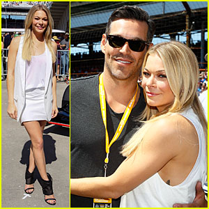 LeAnn Rimes & Eddie Cibrian Spend Memorial Day Weekend at Indy 500!