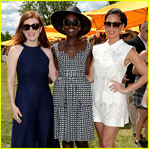Lupita Nyong'o & Julianne Moore Go 'Non-Stop' at Veuve Clicquot Polo Classic!