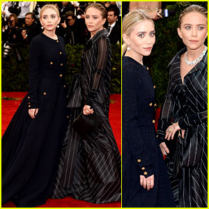Mary-Kate & Ashley Olsen Go Conservative at Met Ball 2014