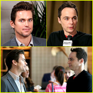 Matt Bomer & Jim Parsons Talk 'Normal Heart' at Variety Studio