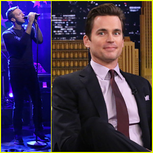 Matt Bomer Talks Losing Weight for 'Normal Heart', Chris Martin & Coldplay Perform 'Magic'  on 'Tonight Show'