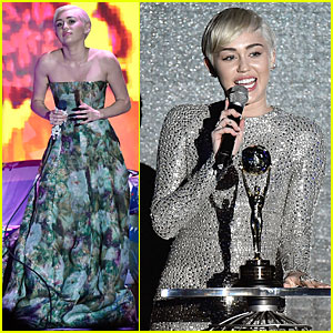 Miley Cyrus Shines as World Music Awards 2014 Winner!