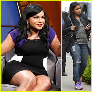 Mindy Kaling Promotes 'Mindy Project' Right Before Season Finale!