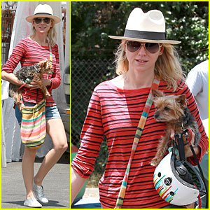 Naomi Watts' Pet Pooch Bob Makes Us Melt During Memorial Day Weekend!