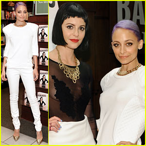 Nicole Richie Goes All White for '#Girlboss' Conversation Event!