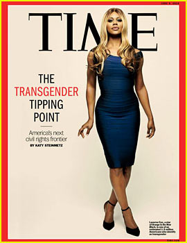 Orange is the New Black's Laverne Cox Covers Time's Transgender Tipping Point Issue
