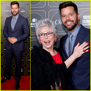 Ricky Martin Suits Up for People En Espanol's Annual '50 Mas Bellos'!