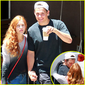 Riley Keough & Ben Smith-Petersen Share a Smooch on Their Day Date!