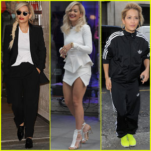 Rita Ora Hits the Town for Dinner with 'Wifey' Cara Delevingne!