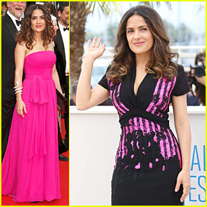 Salma Hayek Makes a Political Statement at 'Prophet' Cannes Premiere!