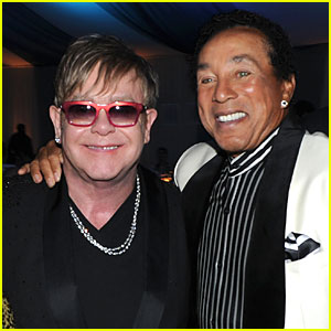 Smokey Robinson & Elton John Collaborate on Duets Album 'Smokey & Friends'!