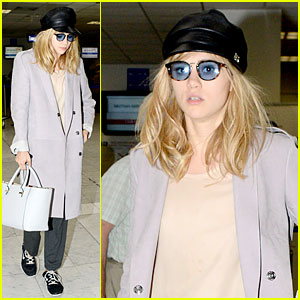 Suki Waterhouse Jets Out of France After Weekend in Cannes!