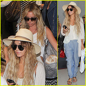 Vanessa Hudgens Gets Back to Reality After Fun Bachelorette Weekend with Ashley Tisdale!