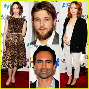 Vera Farmiga & 'Bates Motel' Cast Step Out for A&E Upfronts