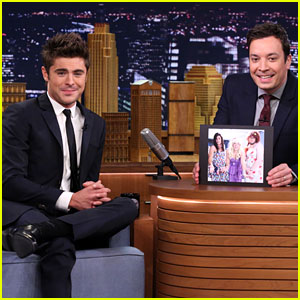 Zac Efron Promotes 'Neighbors' on 'The Tonight Show' After Hilarious Drag Skit