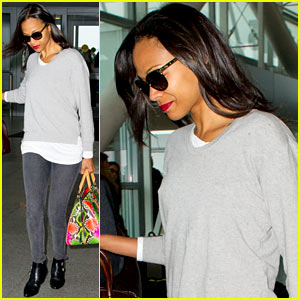 Zoe Saldana Hopes Her New Web Series 'Inspires People to Be Thankful'
