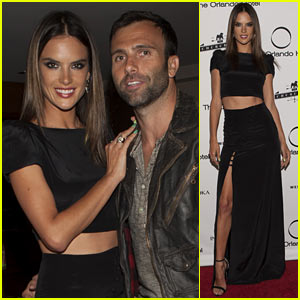 Alessandra Ambrosio Shows Off Her Flawless Figure at Orlando Hotel 30th Birthday!