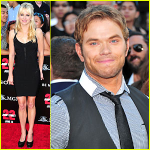 Anna Faris & Kellan Lutz Get Ready to Laugh at '22 Jump Street' Premiere!