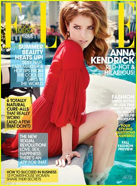 Anna Kendrick to 'Elle' Mag: 'I Never Felt Like I've Exactly Traded on My Looks'