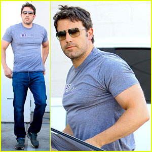 Ben Affleck Sure Has Bulked Up for Batman - See His Buff Bod!