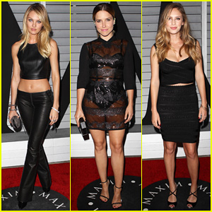 Candice Swanepoel & Sophia Bush Step Out for Maxim's Hot 100 Women of 2014 Celebration!