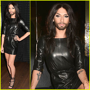 Conchita Wurst Makes a Statement on Love, Respect, & Tolerance!