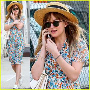 Dakota Johnson Thinks That Hats Are the Sexiest Article of Clothing!