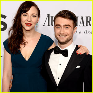 Daniel Radcliffe & Girlfriend Erin Darke Make First Red Carpet Appearance at Tony Awards 2014!