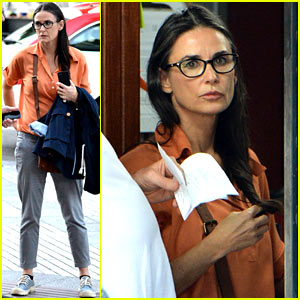 Demi Moore Gets Back to the Grind, Begins Filming 'Wild Oats'